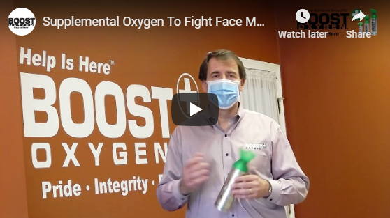 Video - Using Boost Oxygen while wearing a Face Mask