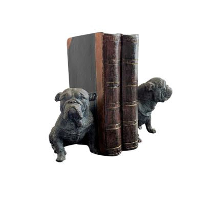 DOG & BOOK BOOKENDS