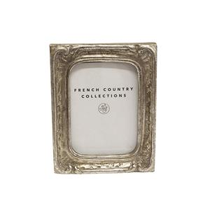 Antique Mini Silver Rect Frame 2x3