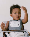 Bunny Face Bib by Mister Fly