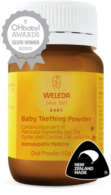 Baby Teething Powder by Weleda