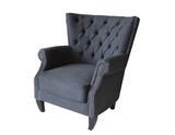 Emma Charcoal Chair (IN STORE COLLECTION ONLY)