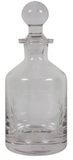 Wreath Etched Glass Decanter 9cm x 9cm x 23cm