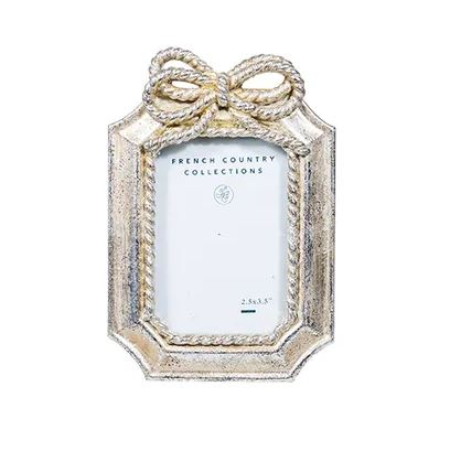 SILVER BOW FRAME MINI RECTANGLE 2.5X3.5