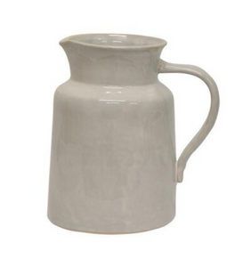 Franco Rustic White Large Pitcher