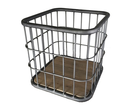 Square Metal Basket