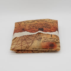 Goonies Map Design Beeswax or Rice Bran Wax (Vegan) Food Wrap - Natural Wraps
