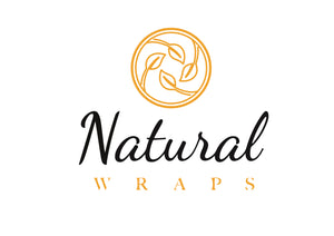 Natural Wraps - Reusable Waxed Food Wraps Handmade In UK - Available in Beeswax & Vegan Friendly Rice Bran Wax. Eco-Friendly reusable products.