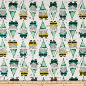 Gnomes green, Front Yard kollektion, Cotton & Steel