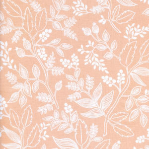 Queen Anne peach, Les Fleurs af Rifle Paper Co for Cotton & Steel