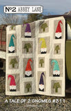 A Tale of Two Gnomes quilt