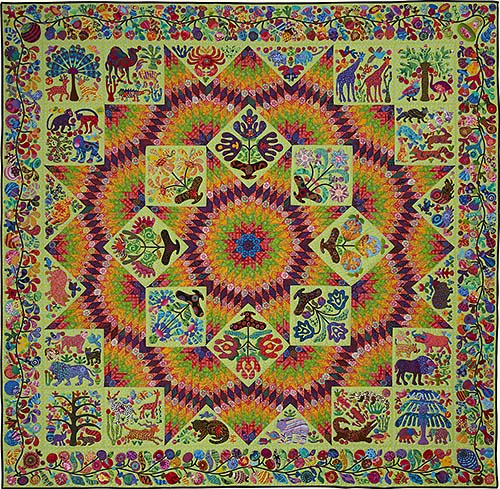 The Broken Star Quilt af Kim McLean