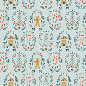 Ginger Joy fra kollektionen Cozy and Joyful af Maureen Cracknell for Art Gallery Fabric