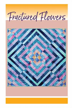 Fractured Flowers Quilt af Cindi McCracken Designs