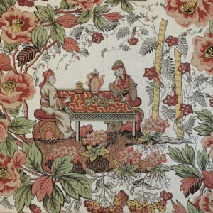 Kinesere - Antique Welsh Chintz af Antique Textiles Company London