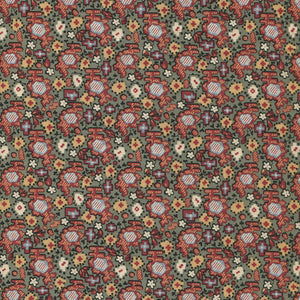 Carpet of Flowers - Antique Welsh Chintz af Antique Textiles Company London