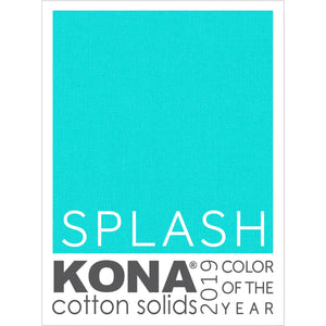 Kona cotton #1789 Splash - Color of the year 2019