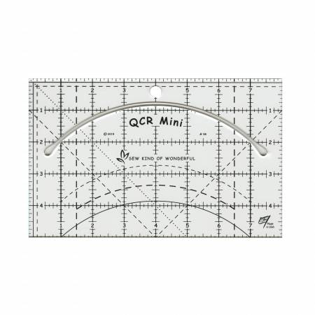 Quick Curve Mini Ruler fra Sew Kind of Wonderful