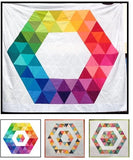 Ring Around the Hexies Quilt af Karie Jewell