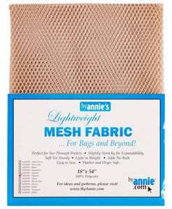 Lite Weight Mesh byannie's i farven Natural