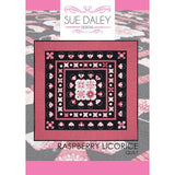 Rasperry Licorice Quilt af Sue Daley