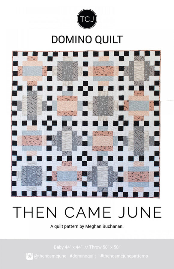 Domino Quilt af Then Came June