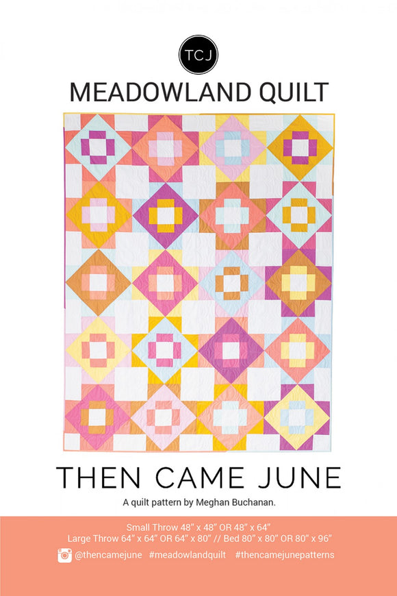 Meadowland Quilt af Then Came June