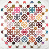 Wagon Wheels Quilt af Sue Daley