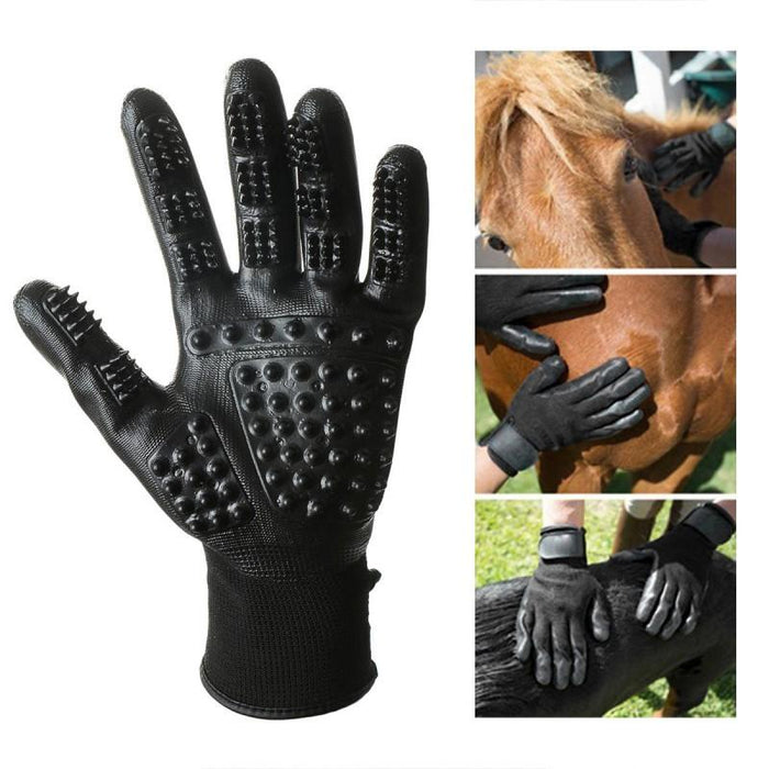 2x PetCaveCo™️ Pet Grooming Gloves