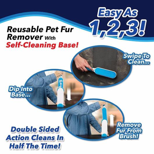 Easy Cat Hair Sweeper