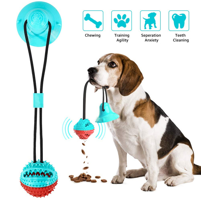 Tug Toy™ - Teeth Cleaning Suction Cup Dog Toy