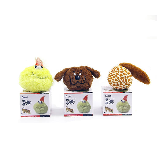 Pet Electric Squeaky Bouncing Ball