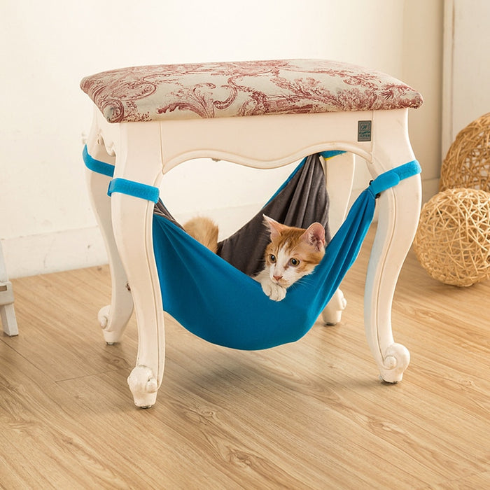 Cat Hammock Bed(A SAFE & Comfy Bed to Hide Out & Nap)