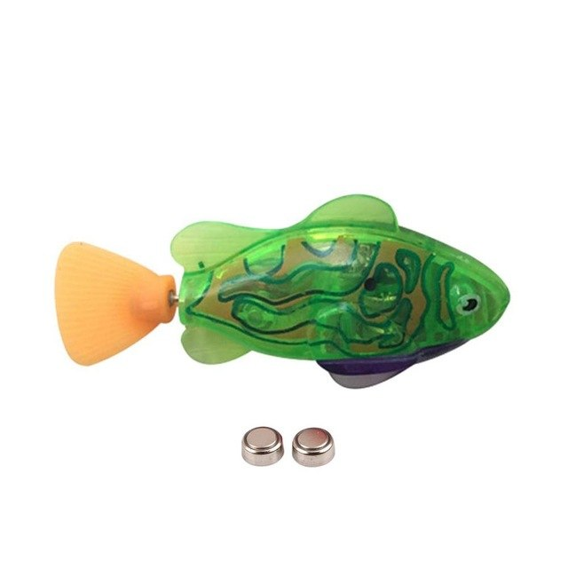 LED Fish Bath Toy [LED Colorful Swimming Fish]