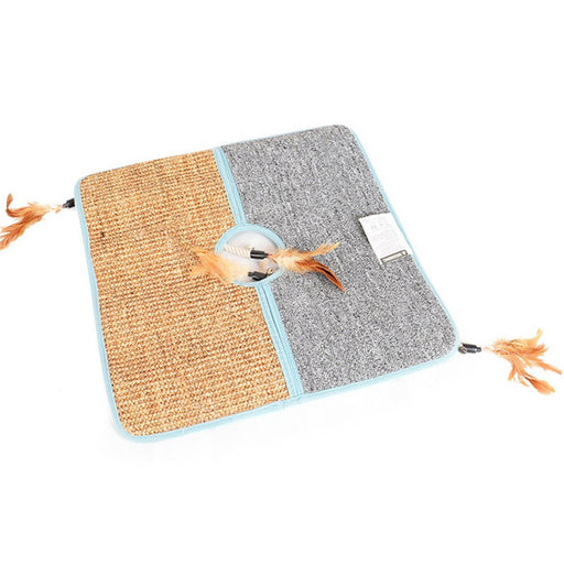 PetCaveCo® The Cat Scratcher Play Mat
