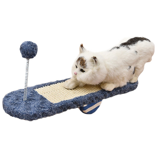 PetCaveCo® Crazy Seesaw Cat Scratcher Toy