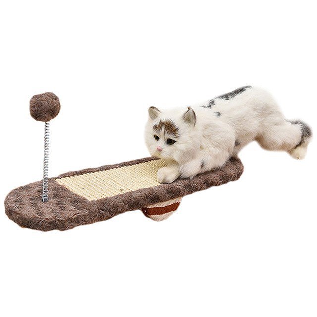 Crazy Seesaw Cat Scratcher Toy