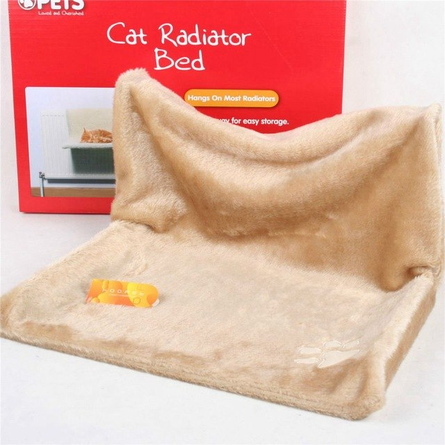 Heated Cat Radiator Bed