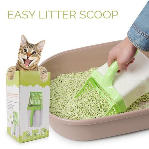 PetCaveCo® Easy Litter Scoop