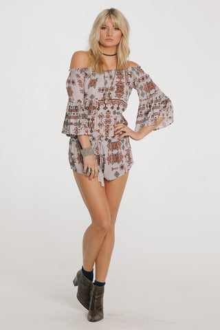 Image of Native Dreams Romper Women - Apparel Shirts Tunics