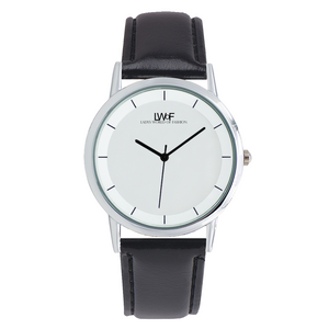 Lwof Ladys World Of Fashion Double Layer Concise Dial Water-Resistance Quartz Watch Woman - Diameter