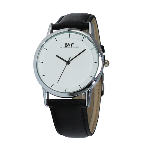 Image of Lwof Ladys World Of Fashion Double Layer Concise Dial Water-Resistance Quartz Watch