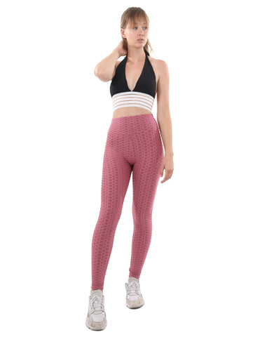 Image of Bentley Leggings - Fuchsia Womens Fashion Clothing Bottoms