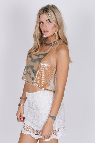 Lavish In Lace Skirt Womens Fashion - Clothing Blouses & Shirts