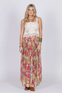 Birds Of Paradise Maxi Skirt Women - Apparel Dresses