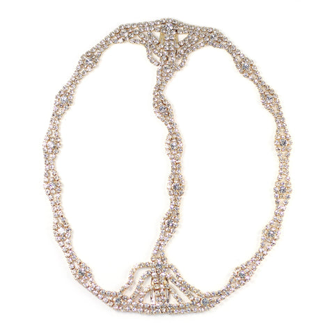 Rhinestone Cleo Headpiece Womens Fashion - Accessories Hair
