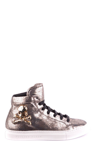 Image of Shoes Philipp Plein 36 High-Top Sneakers - Woman