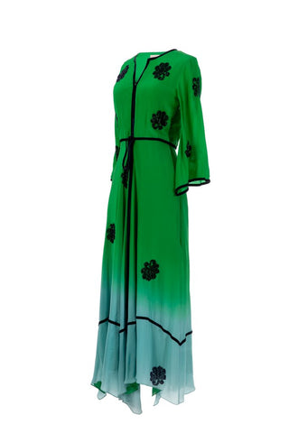 Image of Cate Dress Large / Green Women - Apparel Dresses Casual