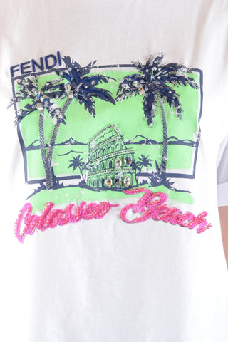 Image of Tshirt Short Sleeves Fendi - Woman