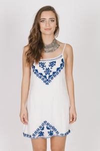 Santorini Short Dress Women - Apparel Dresses Casual